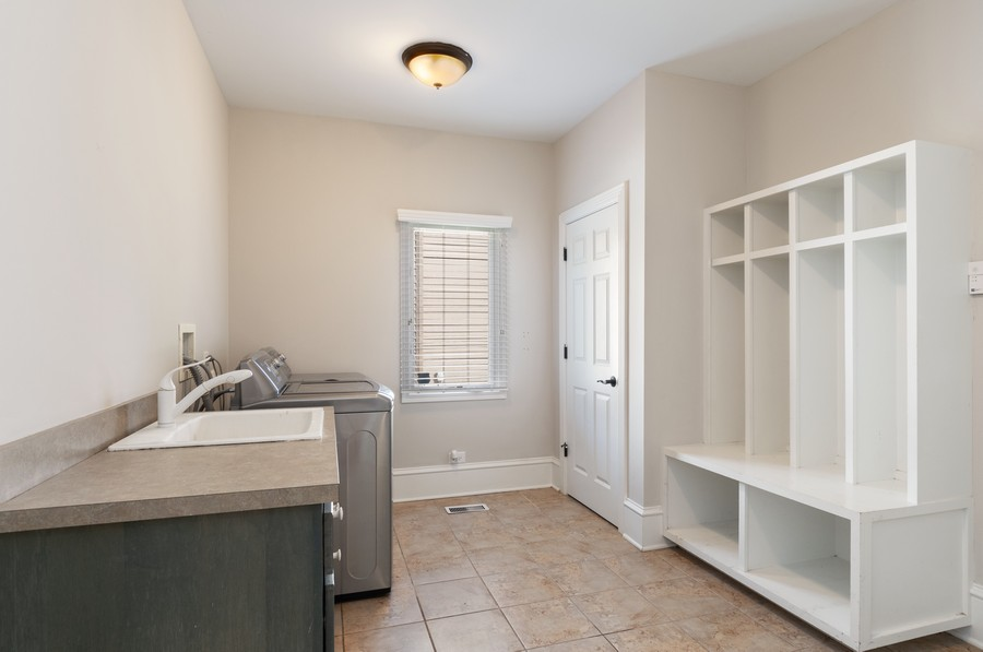 Real Estate Photography - 11674 Liberty Ln, Plainfield, IL, 60585 - Mudroom