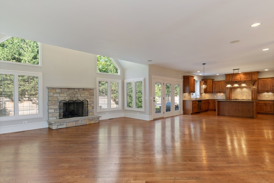 Real Estate Photography - 11674 Liberty Ln, Plainfield, IL, 60585 - Family Room