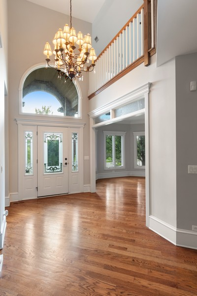 Real Estate Photography - 11674 Liberty Ln, Plainfield, IL, 60585 - Foyer