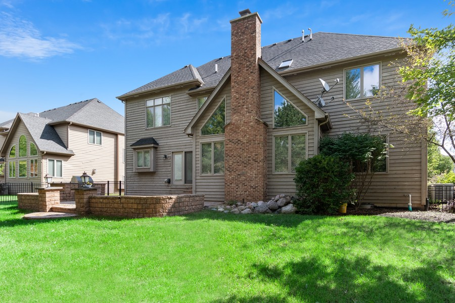 Real Estate Photography - 11674 Liberty Ln, Plainfield, IL, 60585 - Rear View