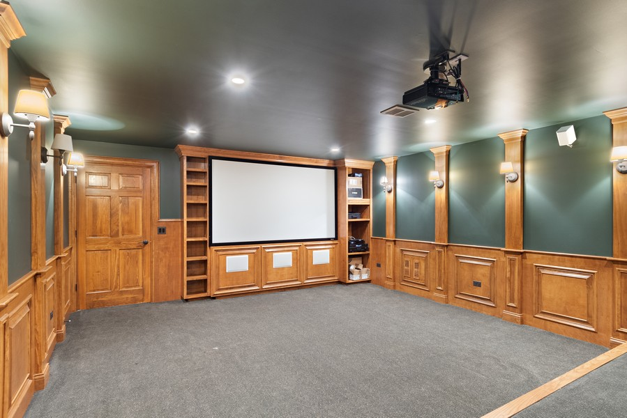 Real Estate Photography - 11674 Liberty Ln, Plainfield, IL, 60585 - Theater