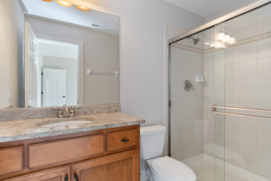 Real Estate Photography - 11674 Liberty Ln, Plainfield, IL, 60585 - 2nd Bathroom