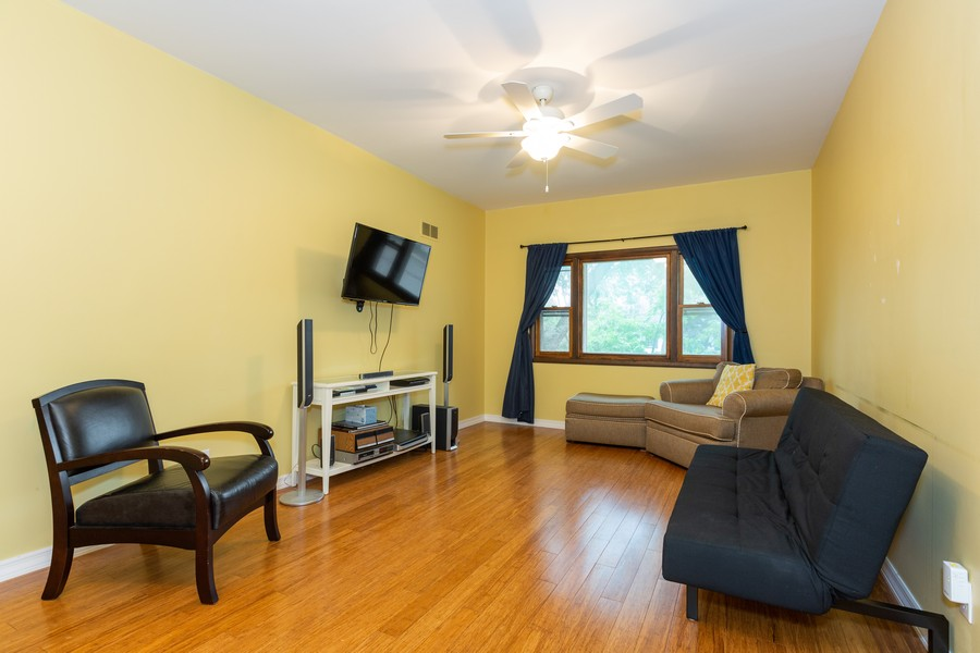 Real Estate Photography - 4750 Pershing Ave, Downers Grove, IL, 60515 - Living Room