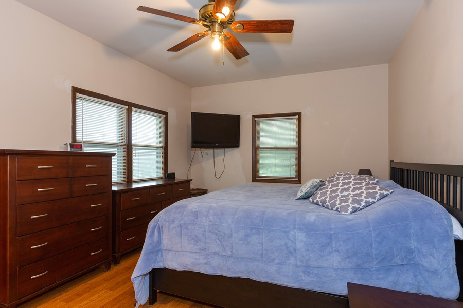 Real Estate Photography - 4750 Pershing Ave, Downers Grove, IL, 60515 - Master Bedroom