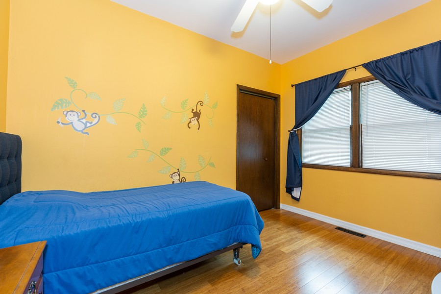 Real Estate Photography - 4750 Pershing Ave, Downers Grove, IL, 60515 - 2nd Bedroom