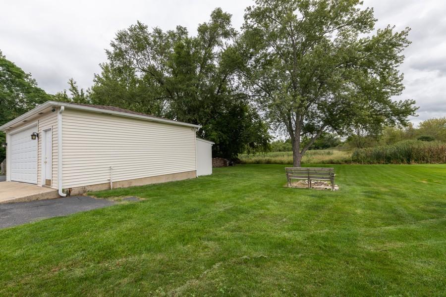 Real Estate Photography - 1818 Hazelwood Dr, Lindenhurst, IL, 60046 - Backs to open area