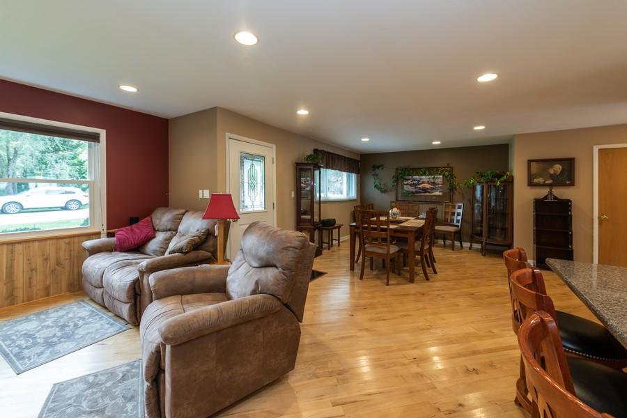 Real Estate Photography - 1818 Hazelwood Dr, Lindenhurst, IL, 60046 - Living Room / Dining Room