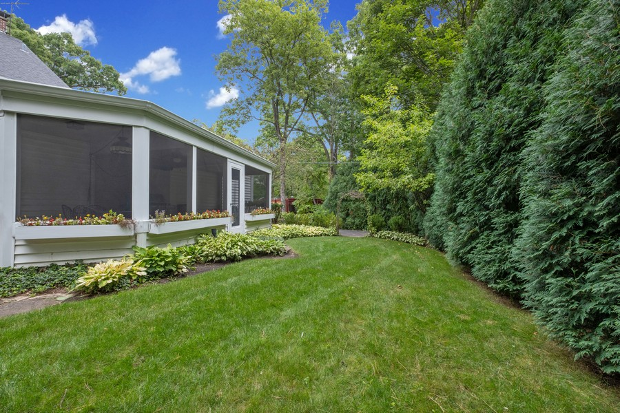 Real Estate Photography - 388 Beech St, Highland Park, IL, 60035 - Back Yard