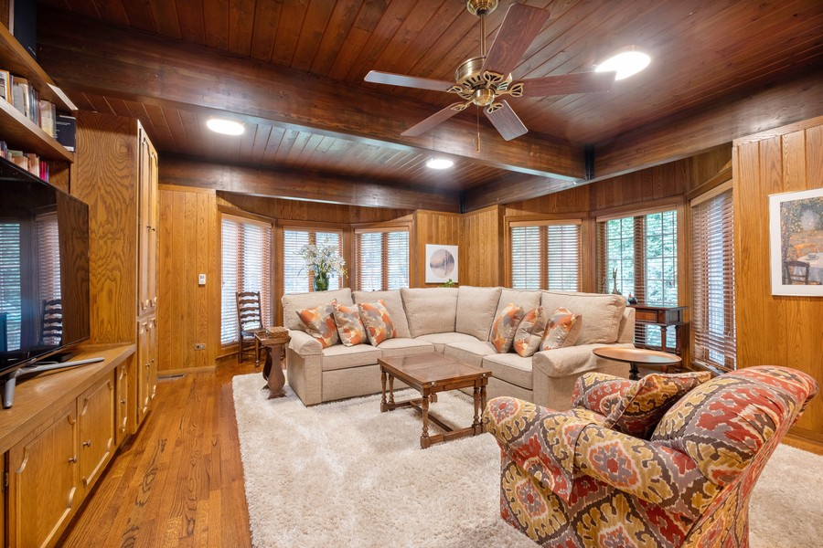 Real Estate Photography - 388 Beech St, Highland Park, IL, 60035 - Family Room
