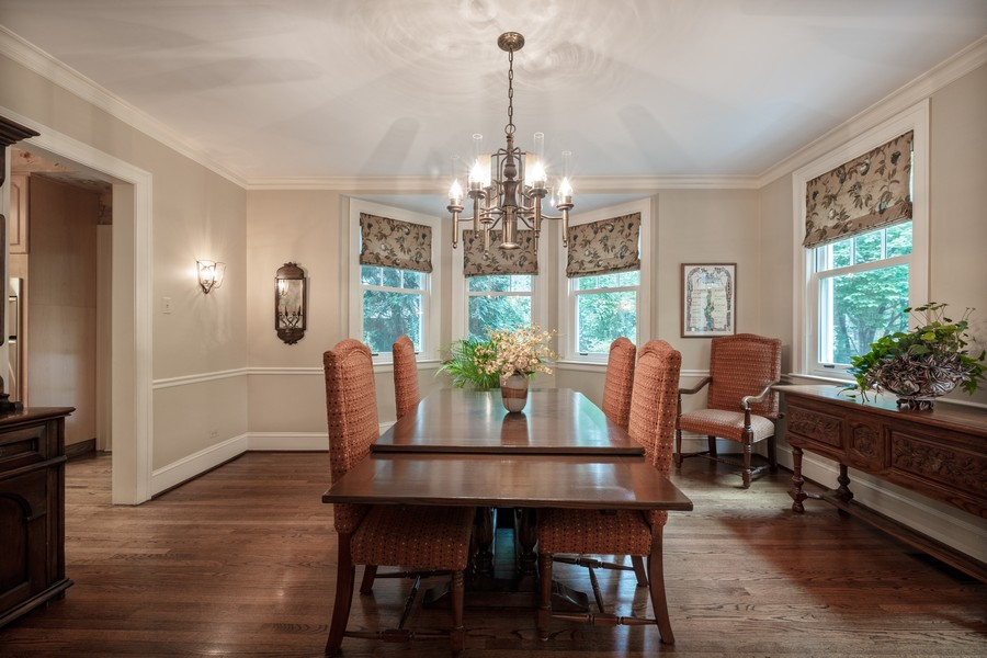 Real Estate Photography - 388 Beech St, Highland Park, IL, 60035 - Dining Room