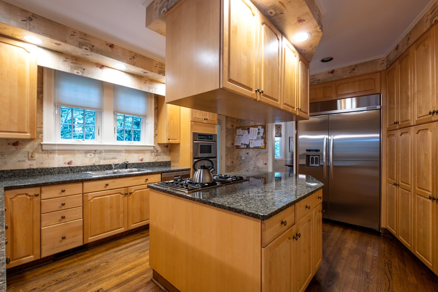 Real Estate Photography - 388 Beech St, Highland Park, IL, 60035 - Kitchen