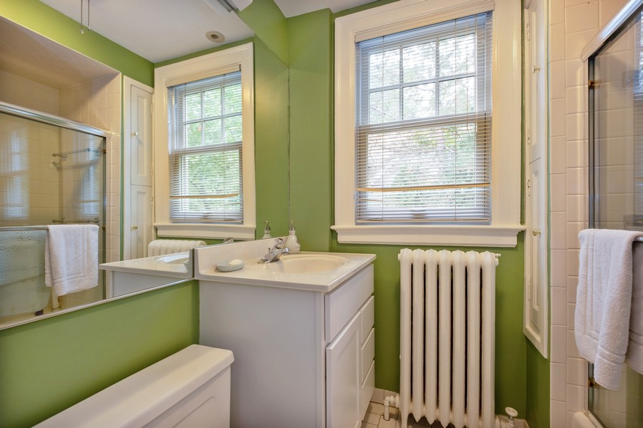 Real Estate Photography - 388 Beech St, Highland Park, IL, 60035 - 2nd Bathroom