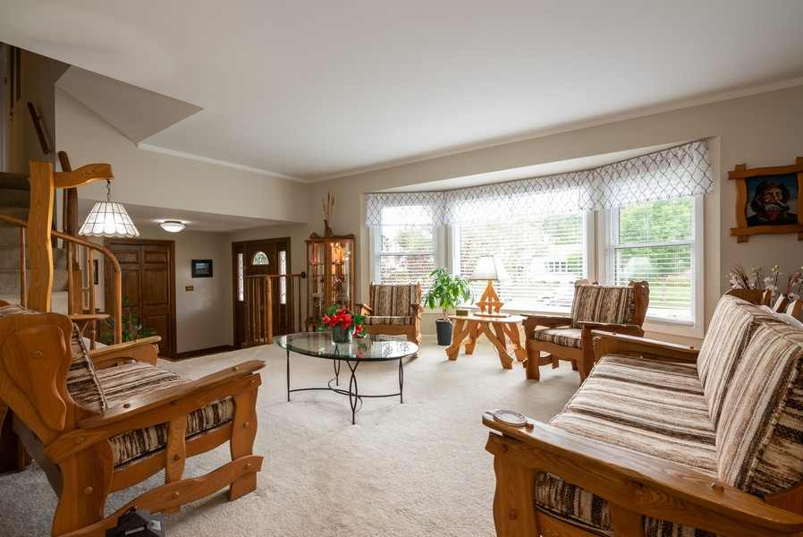 Real Estate Photography - 4065 Winston Dr, Hoffman Estates, IL, 60192 - Living Room
