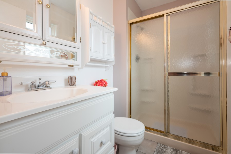 Real Estate Photography - 4065 Winston Dr, Hoffman Estates, IL, 60192 - Master Bathroom