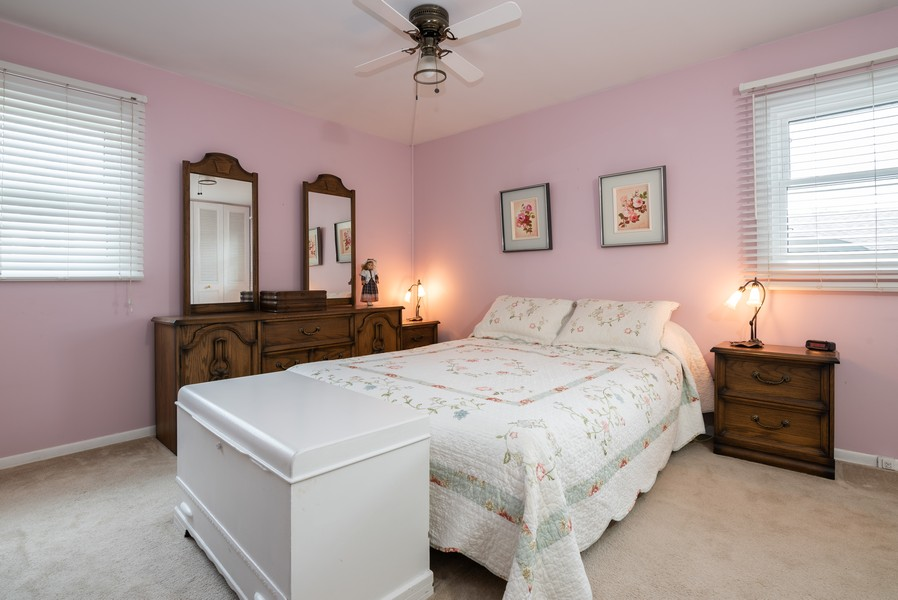 Real Estate Photography - 4065 Winston Dr, Hoffman Estates, IL, 60192 - Master Bedroom