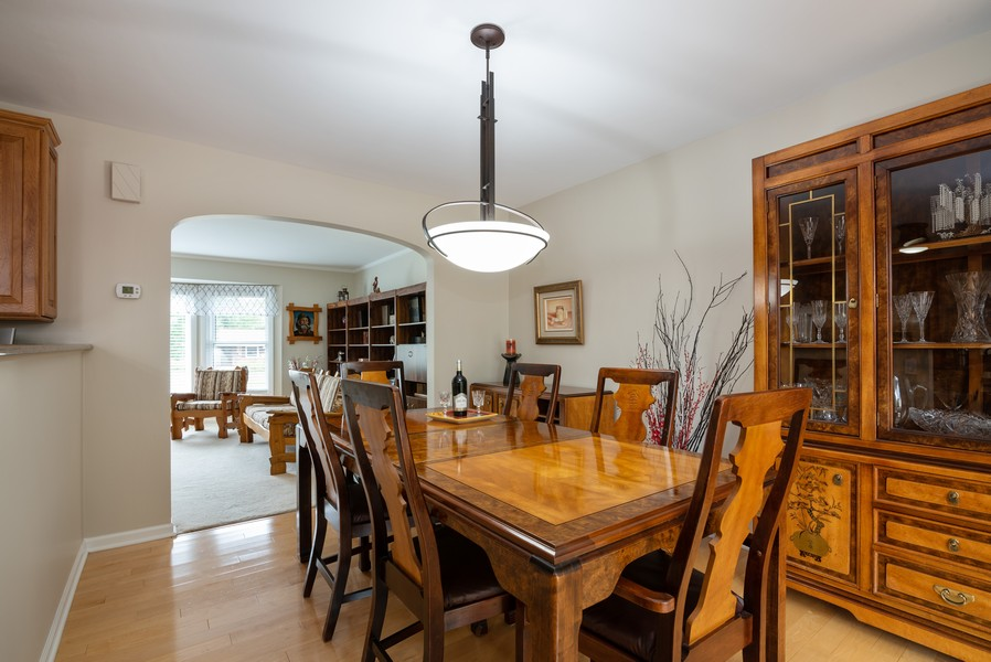 Real Estate Photography - 4065 Winston Dr, Hoffman Estates, IL, 60192 - Dining Room