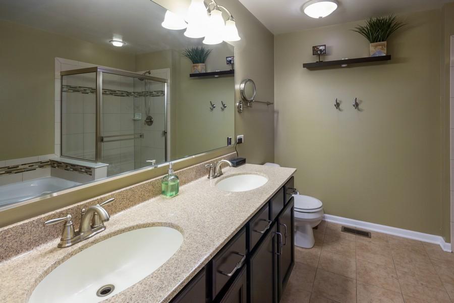 Real Estate Photography - 2947 Church Rd, Aurora, IL, 60502 - Master Bathroom