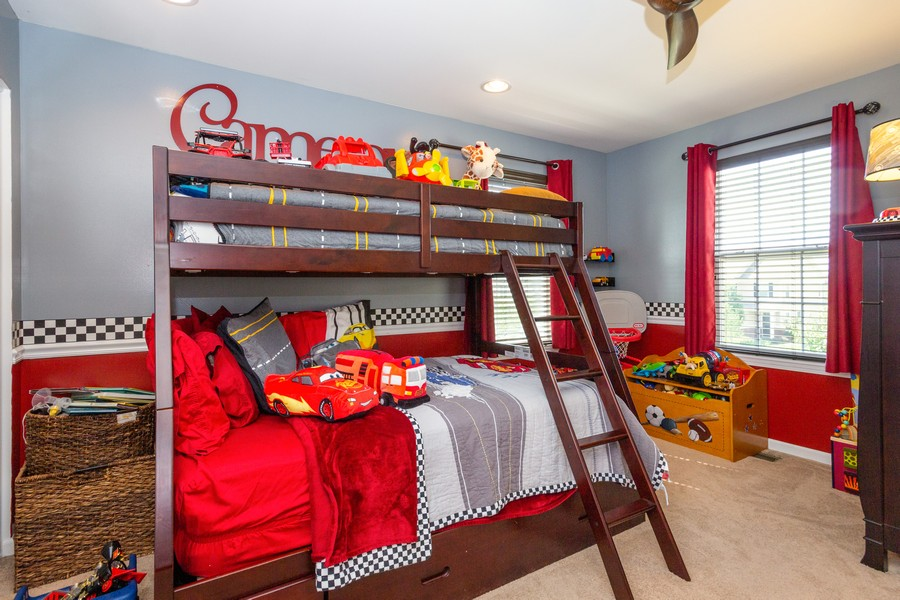Real Estate Photography - 2947 Church Rd, Aurora, IL, 60502 - 2nd Bedroom