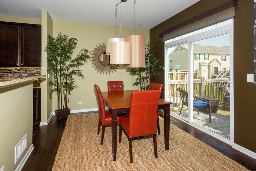 Real Estate Photography - 2947 Church Rd, Aurora, IL, 60502 - Dining Area