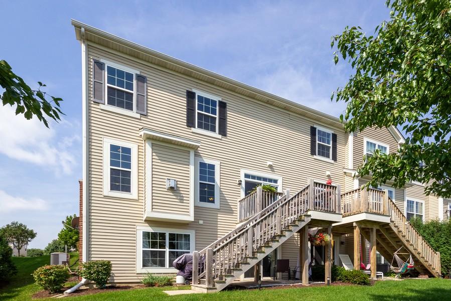 Real Estate Photography - 2947 Church Rd, Aurora, IL, 60502 - Rear View