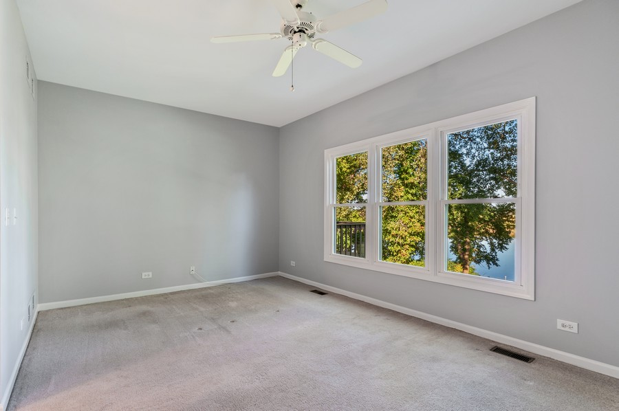 Real Estate Photography - 1228 Edgewater Ln, Antioch, IL, 60002 - Master Bedroom