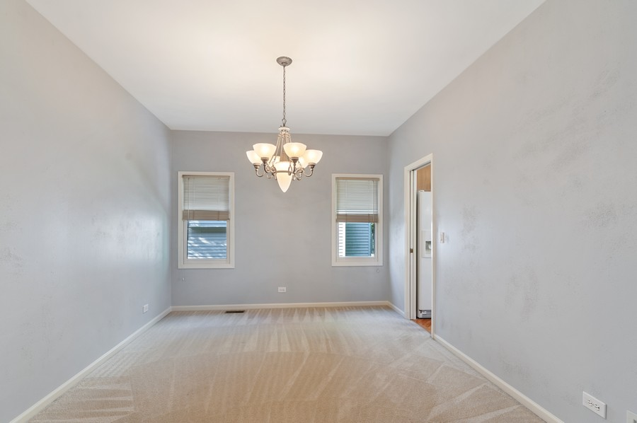 Real Estate Photography - 1228 Edgewater Ln, Antioch, IL, 60002 - Dining Room