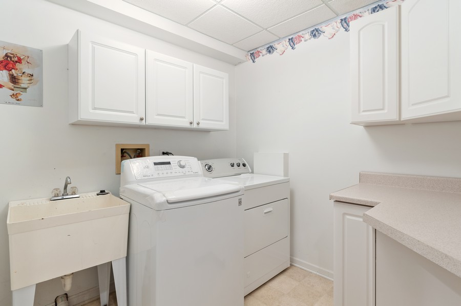 Real Estate Photography - 1228 Edgewater Ln, Antioch, IL, 60002 - Laundry Room