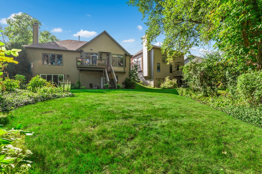 Real Estate Photography - 1228 Edgewater Ln, Antioch, IL, 60002 - Rear View