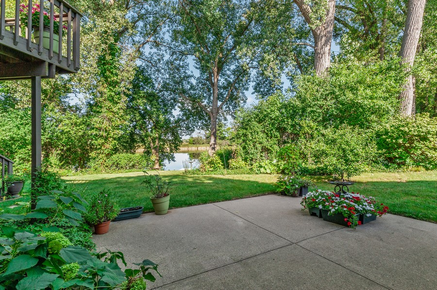 Real Estate Photography - 1228 Edgewater Ln, Antioch, IL, 60002 - Patio