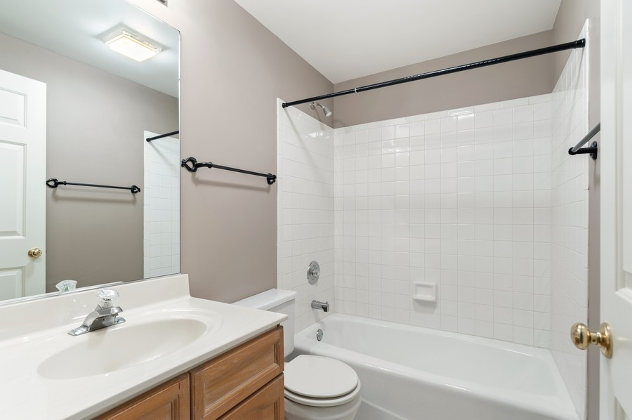Real Estate Photography - 1228 Edgewater Ln, Antioch, IL, 60002 - 2nd Bathroom