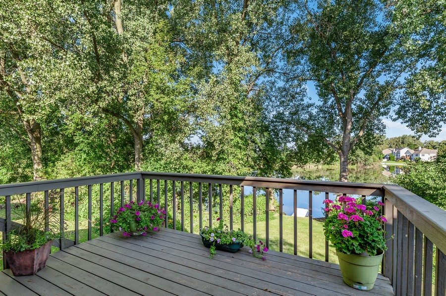 Real Estate Photography - 1228 Edgewater Ln, Antioch, IL, 60002 - Balcony