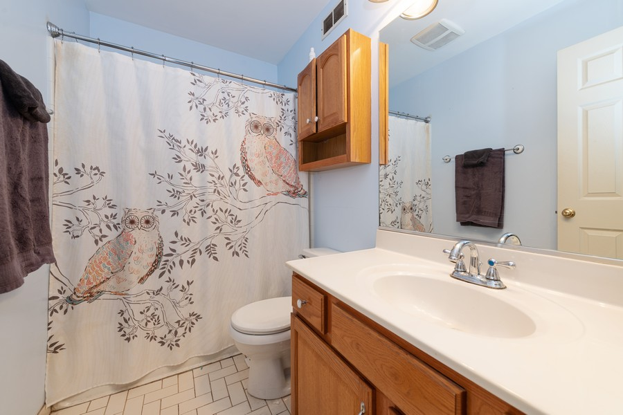 Real Estate Photography - 307 Treehouse Ln, Round Lake, IL, 60073 - Master Bathroom