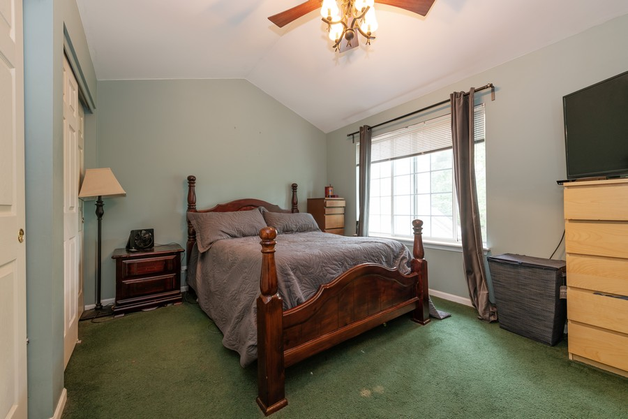 Real Estate Photography - 307 Treehouse Ln, Round Lake, IL, 60073 - Master Bedroom