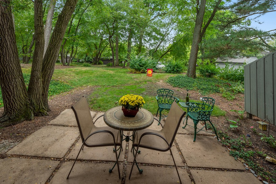 Real Estate Photography - 426 North Deer Trail Dr, C, Lake Barrington, IL, 60010 - Patio
