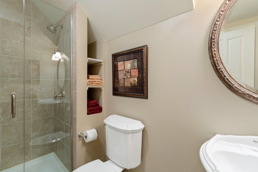 Real Estate Photography - 1347 Osage Orange Rd, Grayslake, IL, 60030 - 4th Bathroom