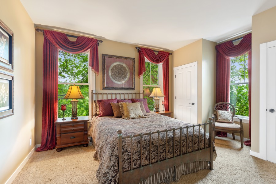 Real Estate Photography - 1347 Osage Orange Rd, Grayslake, IL, 60030 - 1st Floor Bedroom Suite