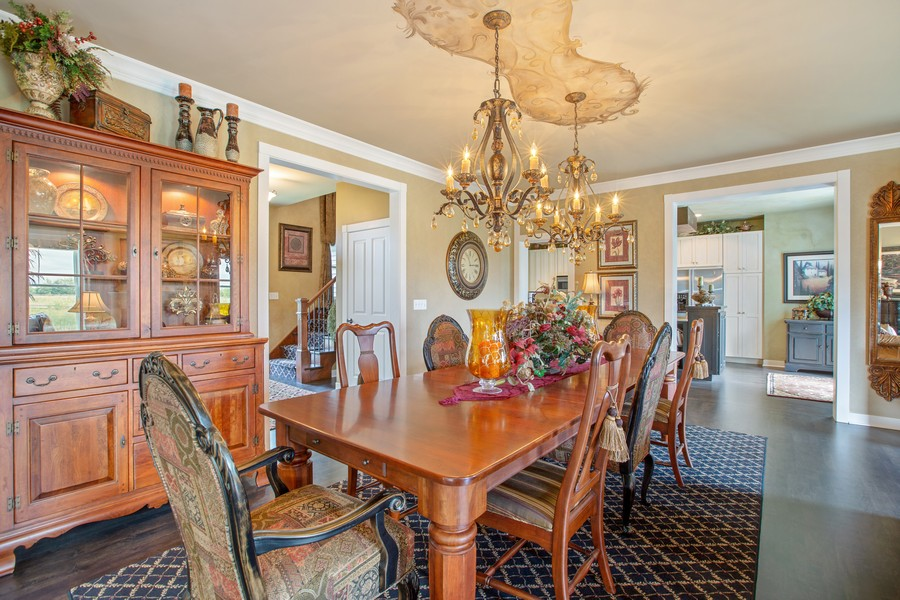 Real Estate Photography - 1347 Osage Orange Rd, Grayslake, IL, 60030 - Dining Room