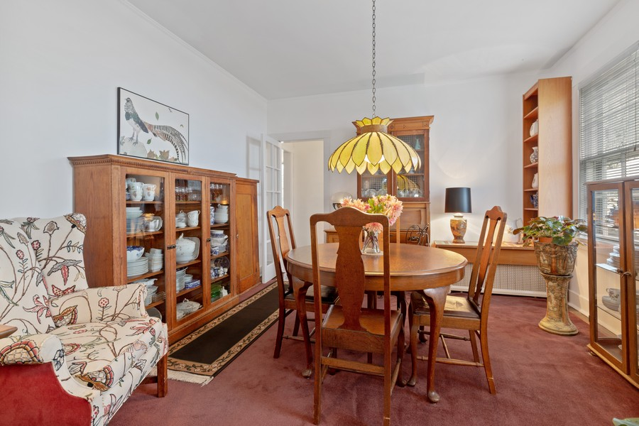 Real Estate Photography - 589 Lincoln Ave, Winnetka, IL, 60093 - Dining Room