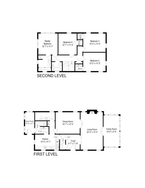 Real Estate Photography - 589 Lincoln Ave, Winnetka, IL, 60093 - Floor Plan