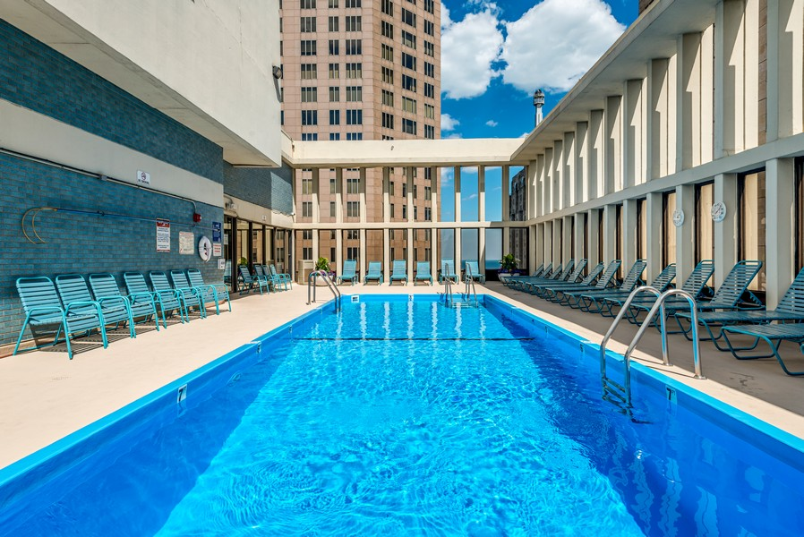 Real Estate Photography - 100 East Walton St, 21D, Chicago, IL, 60611 - Pool