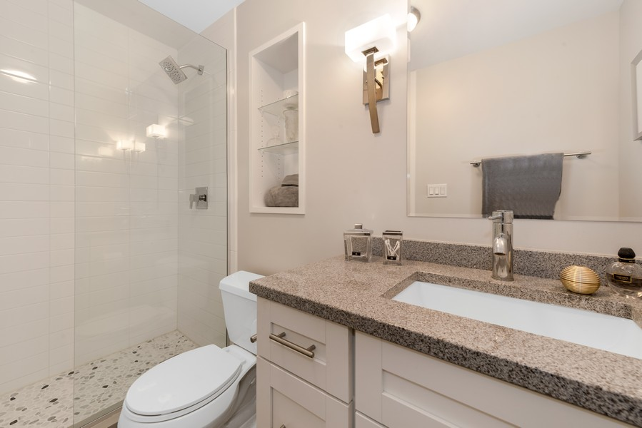 Real Estate Photography - 100 East Walton St, 21D, Chicago, IL, 60611 - Bathroom