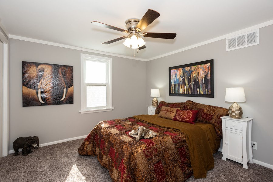 Real Estate Photography - 1233 Indian Ave, Aurora, IL, 60505 - Master Bedroom