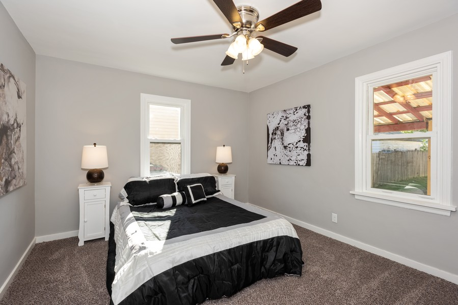 Real Estate Photography - 1233 Indian Ave, Aurora, IL, 60505 - 2nd Bedroom