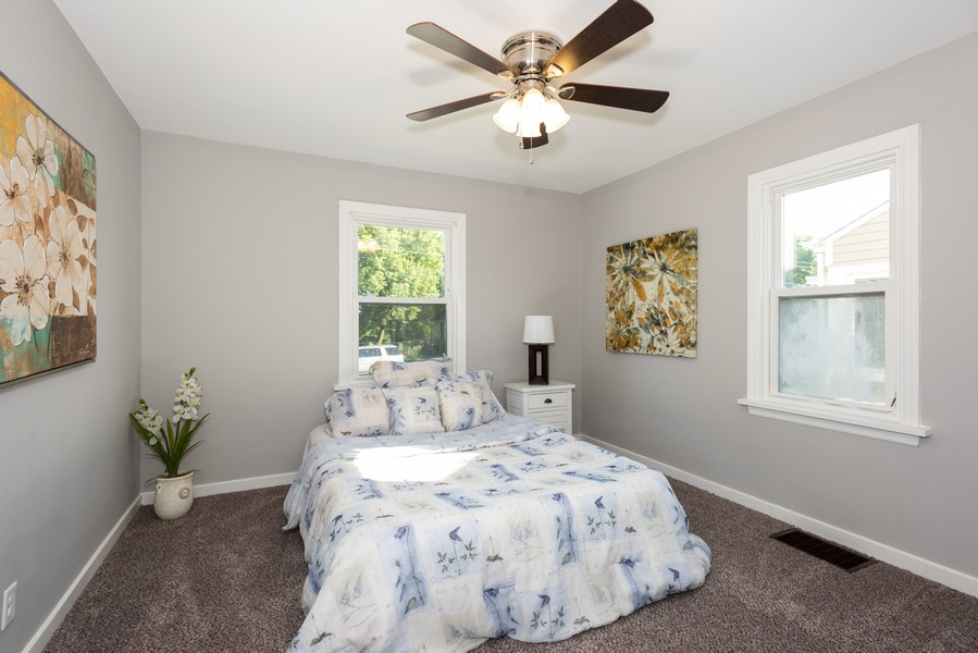 Real Estate Photography - 1233 Indian Ave, Aurora, IL, 60505 - Bedroom