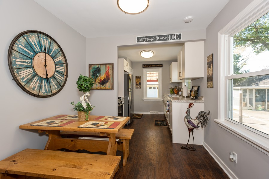 Real Estate Photography - 1233 Indian Ave, Aurora, IL, 60505 - Dining Room