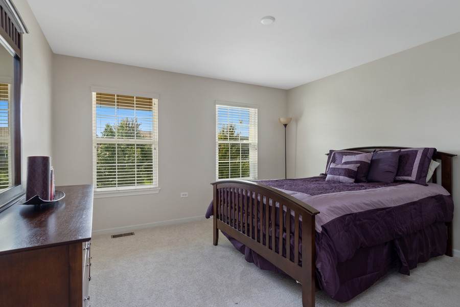 Real Estate Photography - 1276 Twilight Way, Bolingbrook, IL, 60490 - 2nd Bedroom