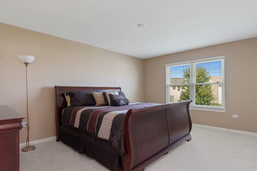 Real Estate Photography - 1276 Twilight Way, Bolingbrook, IL, 60490 - 4th Bedroom