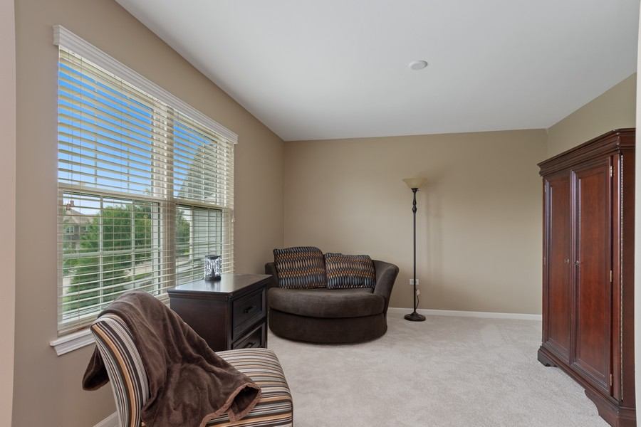 Real Estate Photography - 1276 Twilight Way, Bolingbrook, IL, 60490 - Master Bedroom
