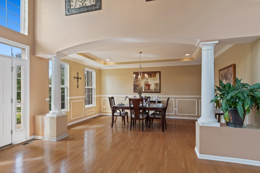 Real Estate Photography - 1276 Twilight Way, Bolingbrook, IL, 60490 - Dining Room