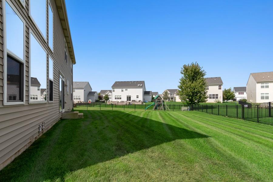Real Estate Photography - 1276 Twilight Way, Bolingbrook, IL, 60490 - Back Yard